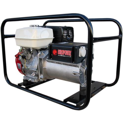 Генератор бензиновый Europower EP 6500 T 3X230V для ж/д в Давлекановое