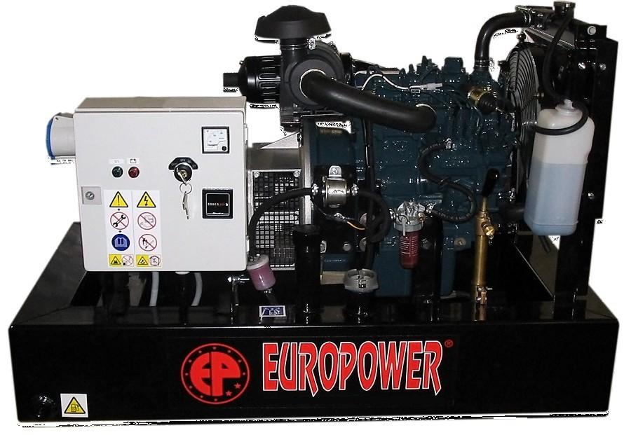Генератор дизельный Europower EP 30 DE в Давлекановое