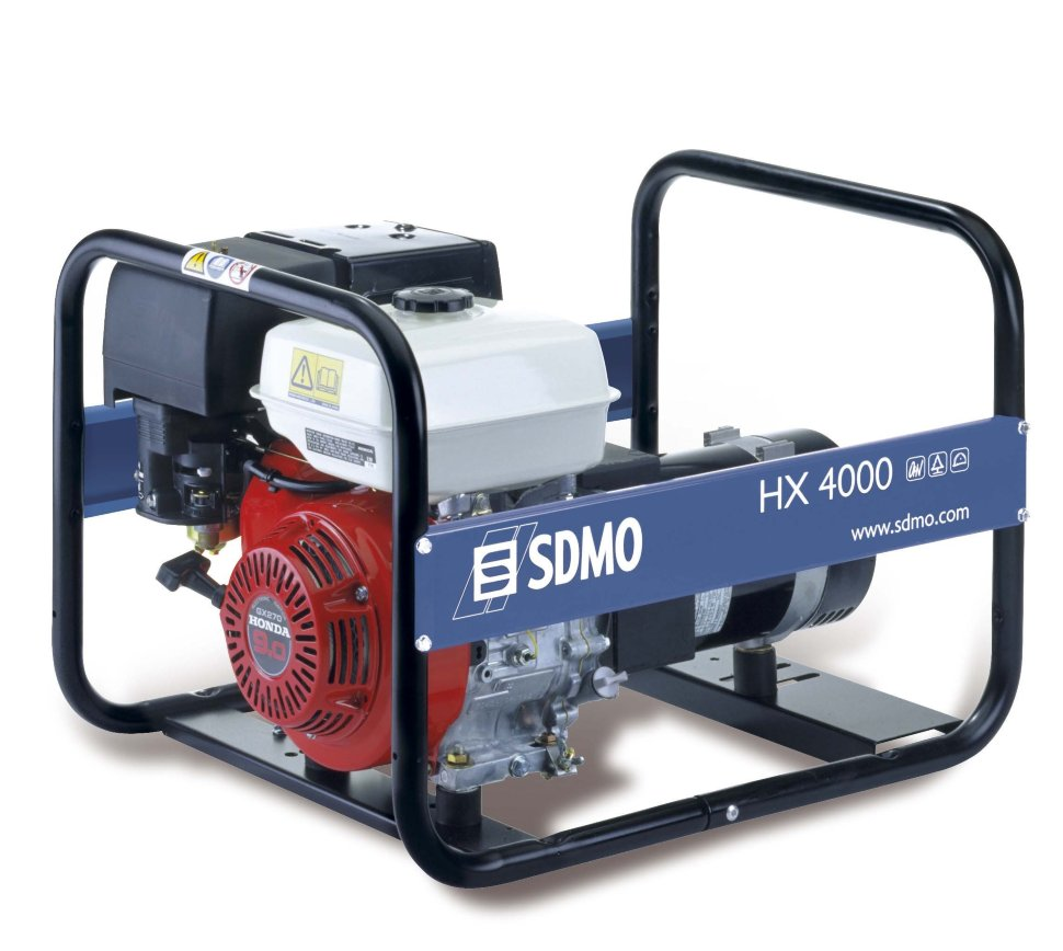 Генератор SDMO HX 4000-S в Давлекановое