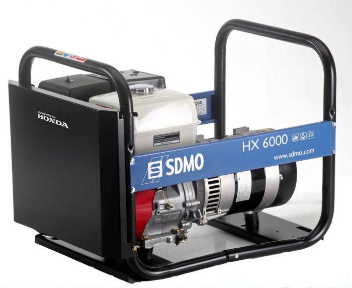 Генератор SDMO HX 6000-S в Давлекановое